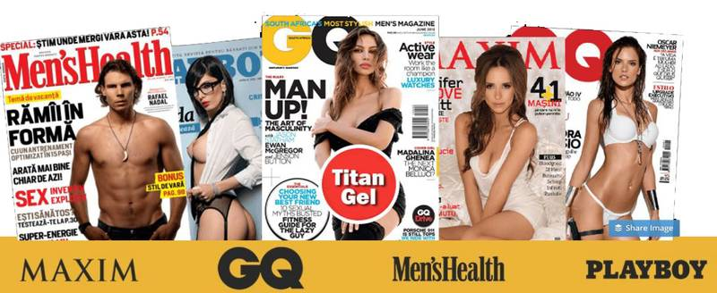 Covers in magazines